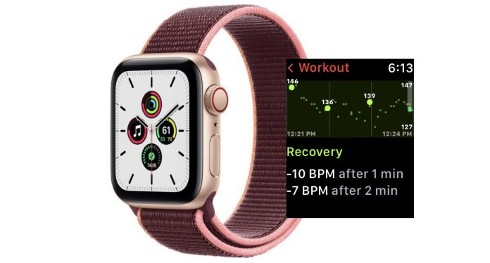 Heart Recovery Rate on Apple Watch