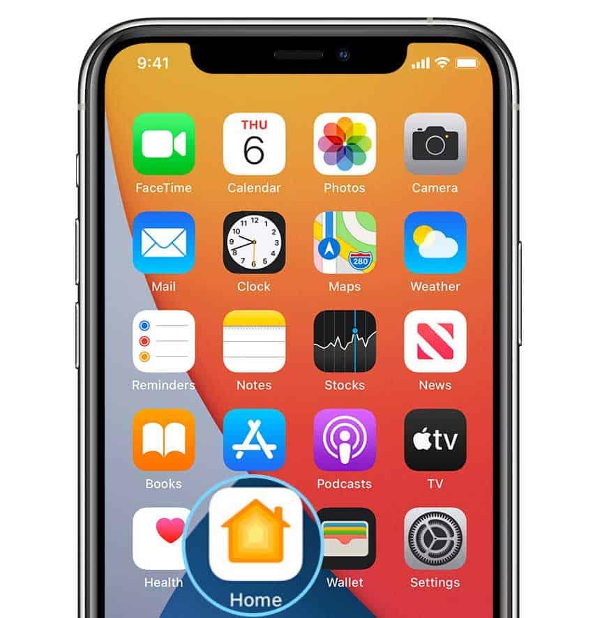 iPhone Home app