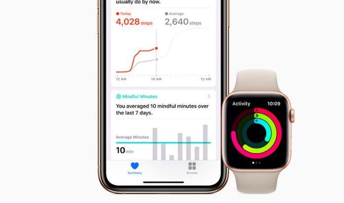 How to find six-minute walk score on Apple watch health