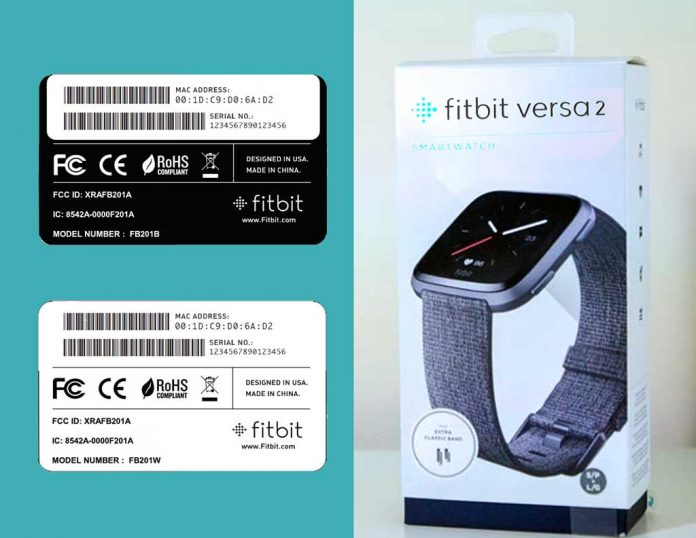 find your Fitbit's serial number