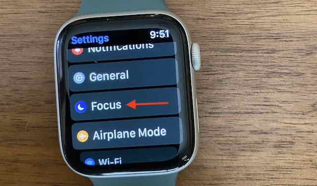 How to Set Focus Schedules on Apple Watch