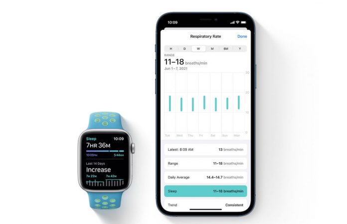 How to Set up and check Respiratory rate on Apple Watch and iPhone