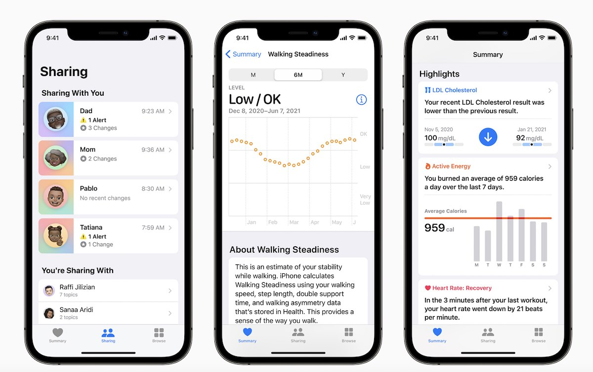 Set up Walking Steadiness Feature and alerts on iPhone