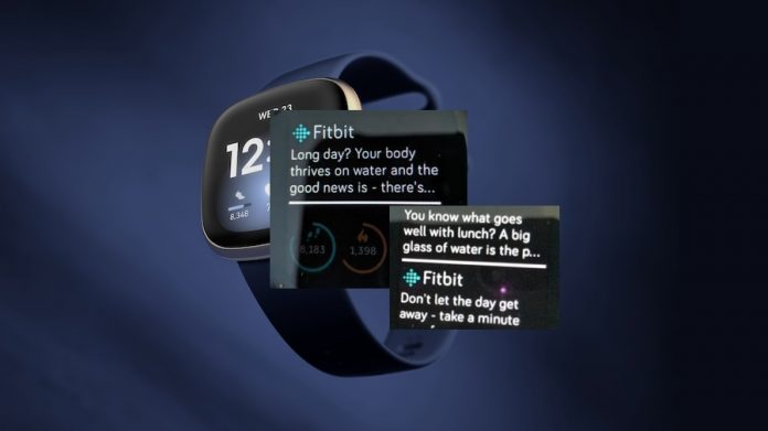 Stop Fitbit health and wellness messages
