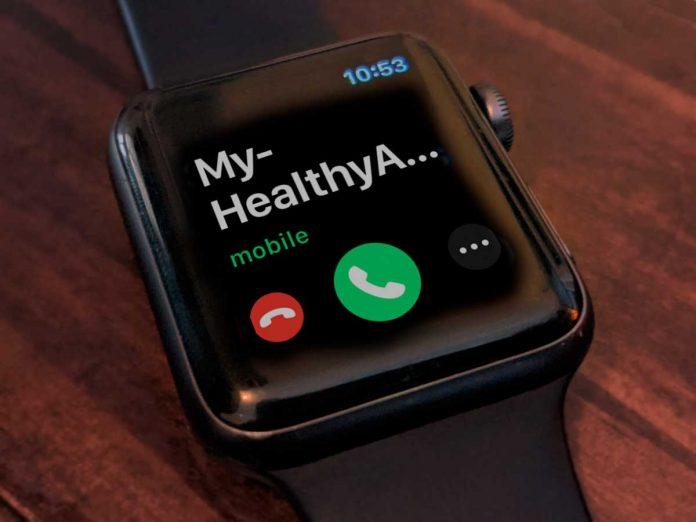 phone call on apple watch