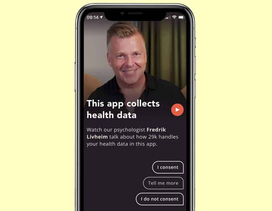 consent to use the 29k app