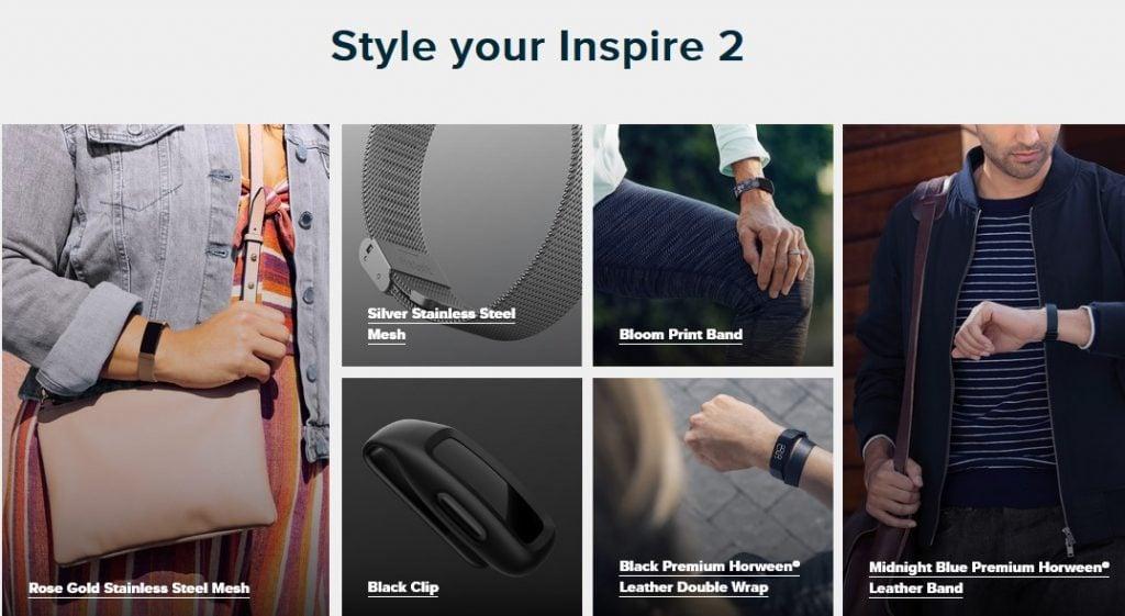 Fitbit Inspire VS Garmin Vivosmart