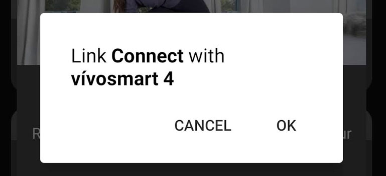 Link Connect app with Garmin device on Android