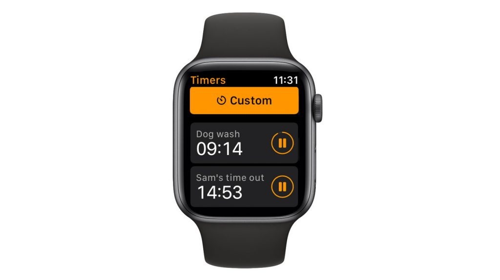 see the active timers on your Apple Watch