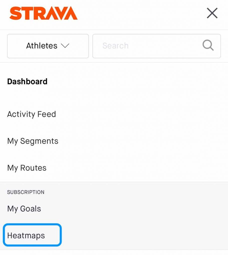Strava personal heatmaps on mobile