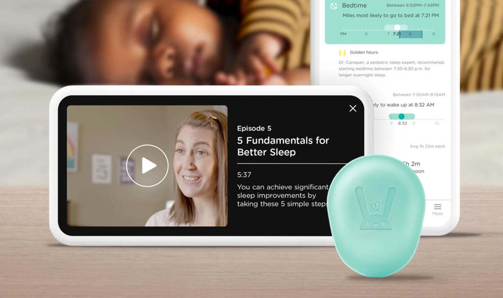 Pampers Lumi sleep system sensor and diaper