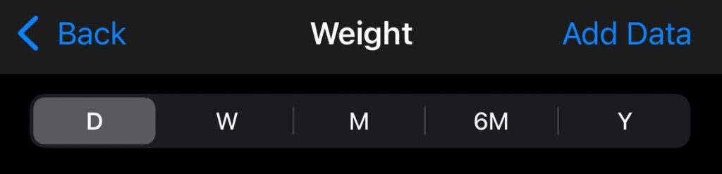 add data manually to Apple Health app