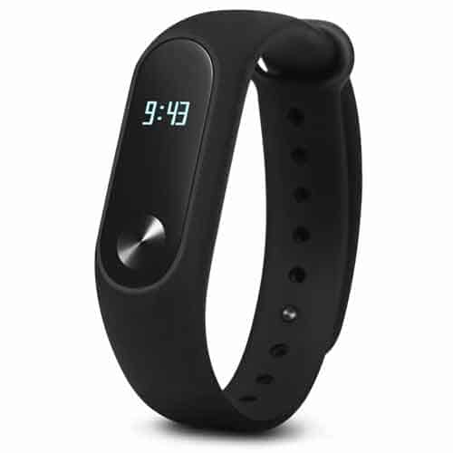 Mi band 2, developed by Huami Corporation and based on the Amazfit health cloud data services