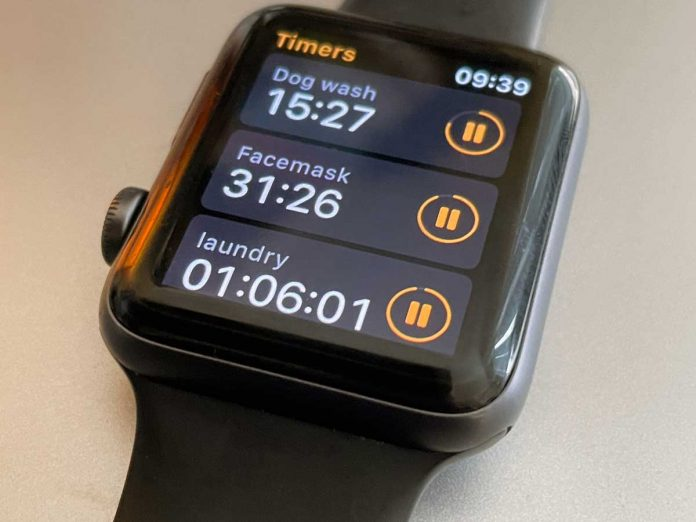 set up and use multiple timers on Apple Watch