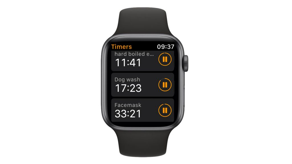 add more than one timer to your apple watch