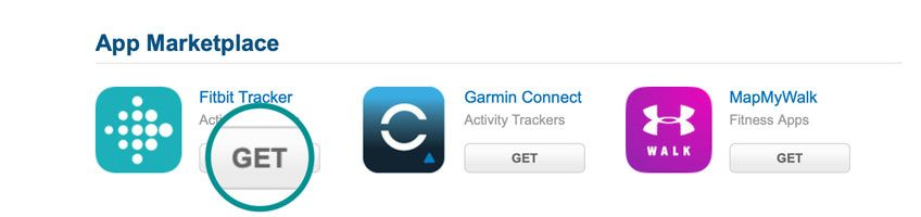 Install and get the Fitbit Tracker for MyFitnessPal