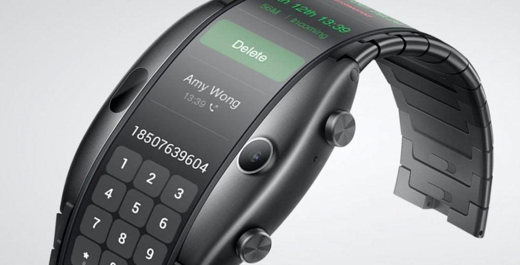 Nubia smartwatch AMOLED display