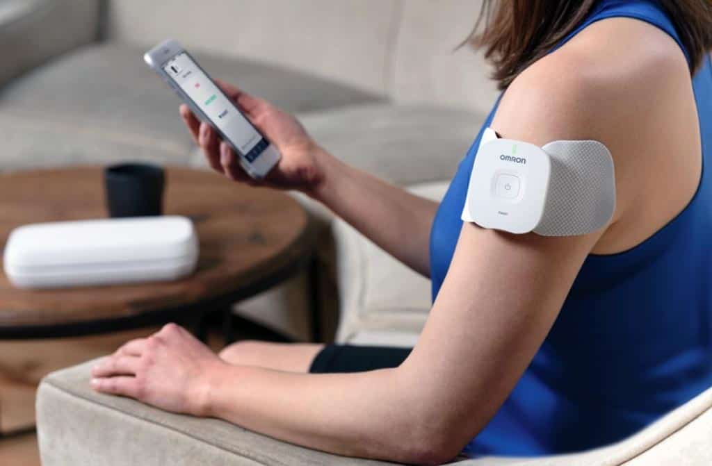 Omron smart TENS unit with app