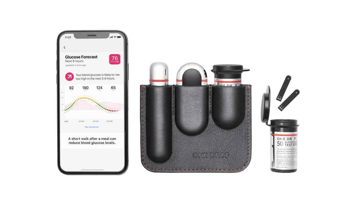 One Drop diabetes app for iPhone