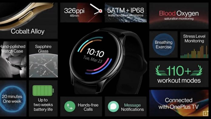 Oneplus smartwatch features