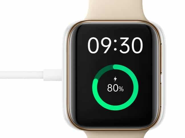 Oppo Watch Battery vs Apple Watch Battery