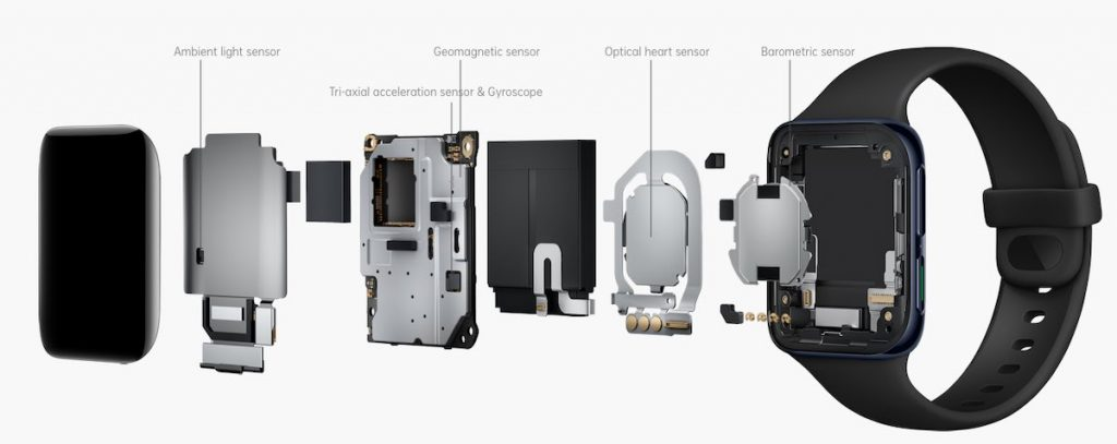 Oppo Watch Sensor technology