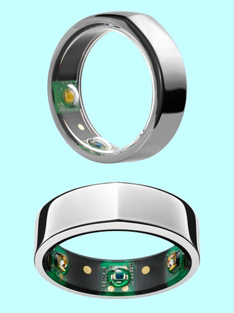 Sensors on Oura ring