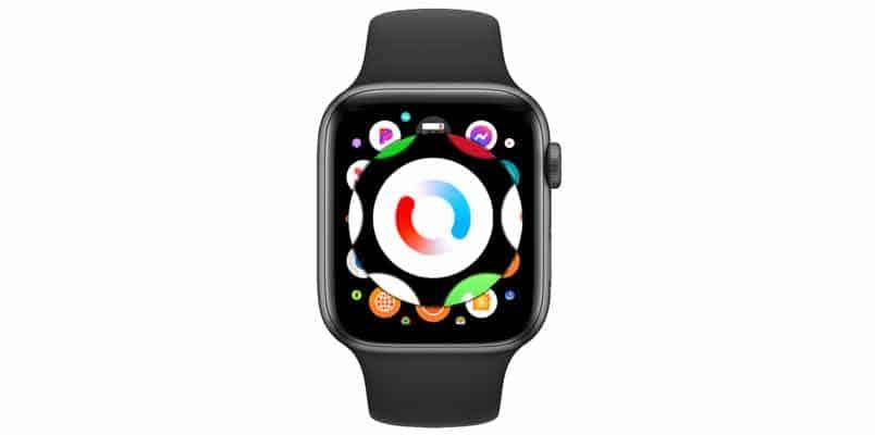 Blood oxygen app on Apple watch screen