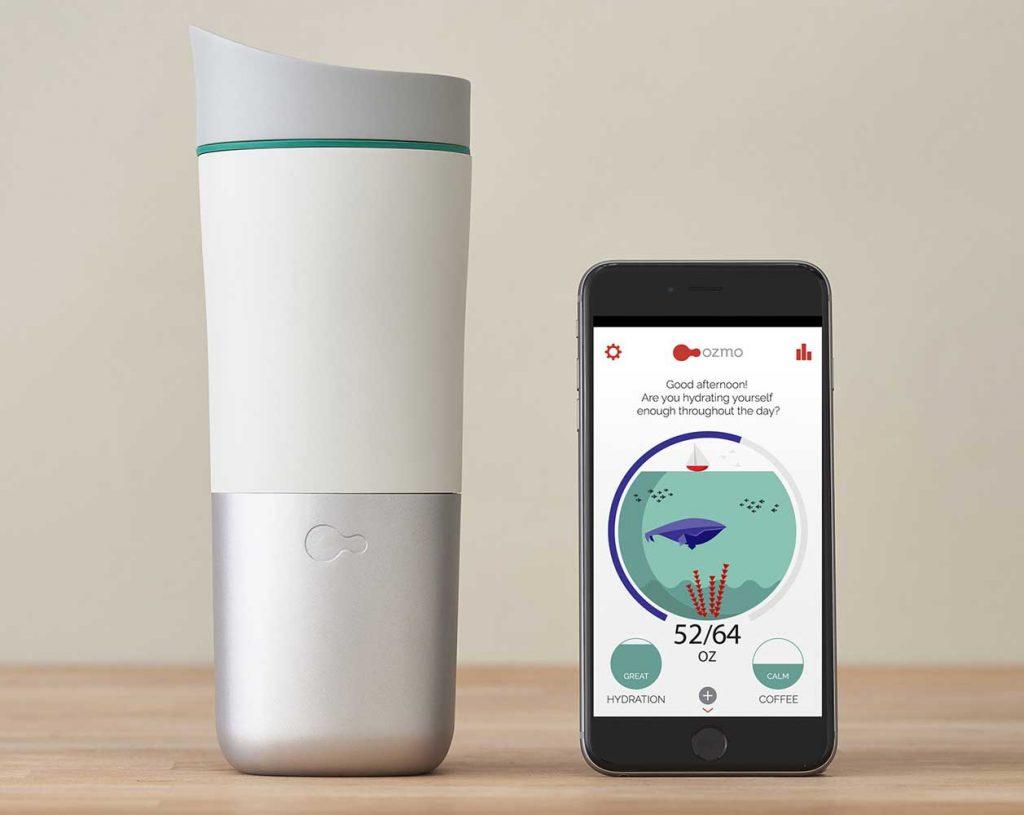 smart water bottle Ozmo Java+