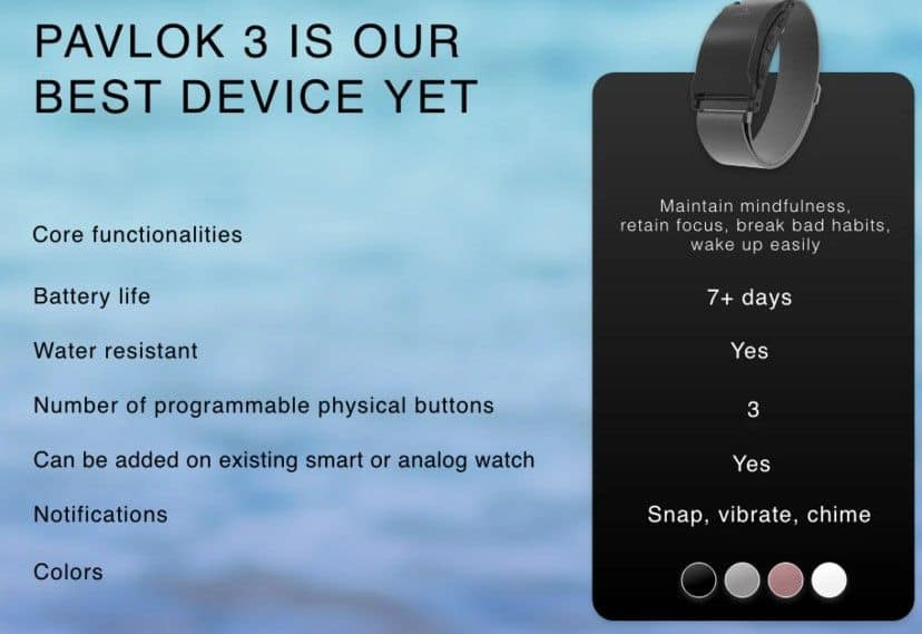Pavlok 3 features