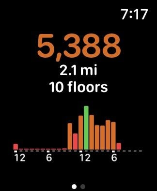Pedometer++ app for Apple Watch