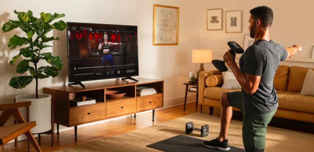 Peloton Digital fitness app