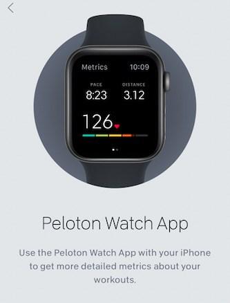 Peloton Watch app missing metrics