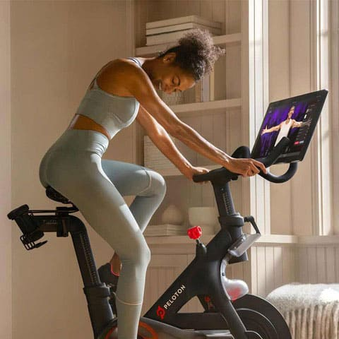 get your ride on with Peloton