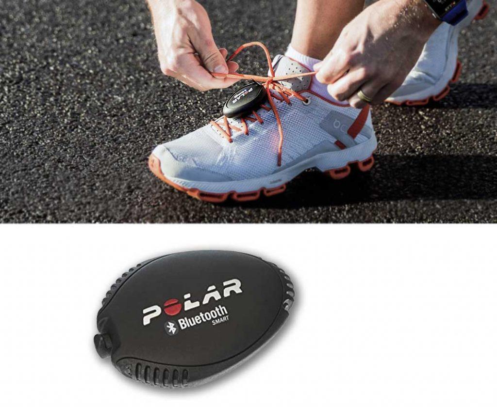 running pod and stride sensor by Polar