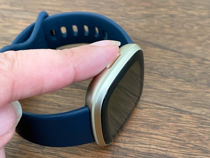 Fitbit Sense or Versa Series side button