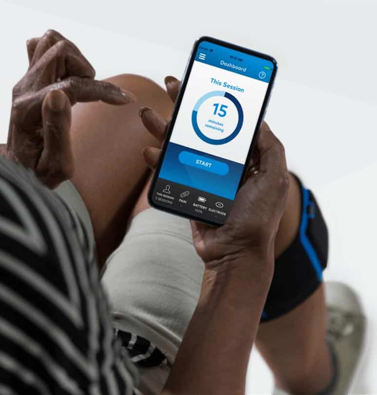 Quell 2.0 Wearable Pain Relief Technology device and app