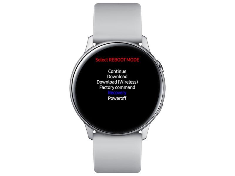 Samsung Galaxy smartwatch REBOOT MODE