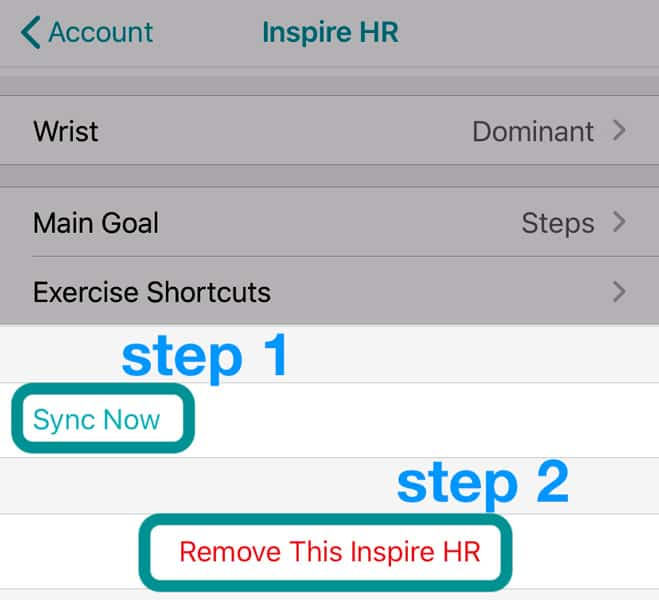 remove Fitbit from your Fitbit account