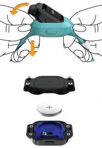 replace battery on Garmin Vivofit Jr 3