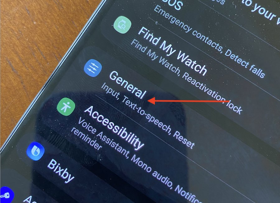Reset Samsung Galaxy Watch from phone