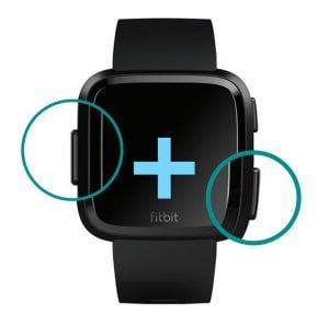 Fitbit Versa, Ionic, and Blaze restart process