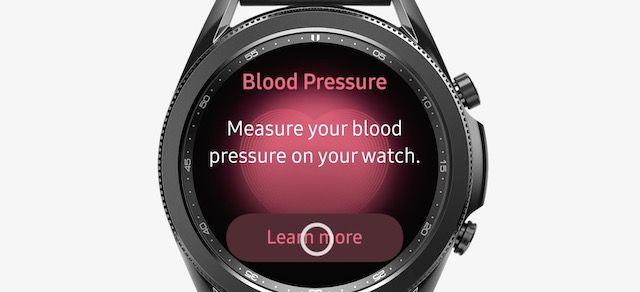 Samsung Blood pressure