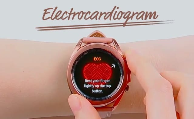 Samsung Galaxy Watch 3 ECG feature