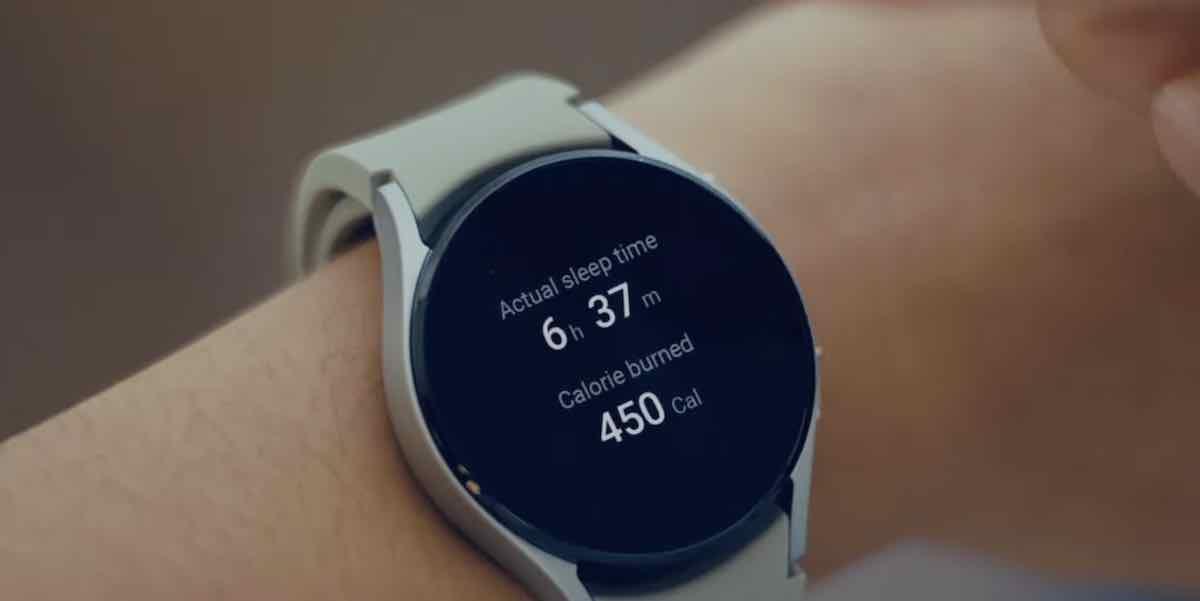 Samsung Galaxy Watch 4 Sleep monitoring