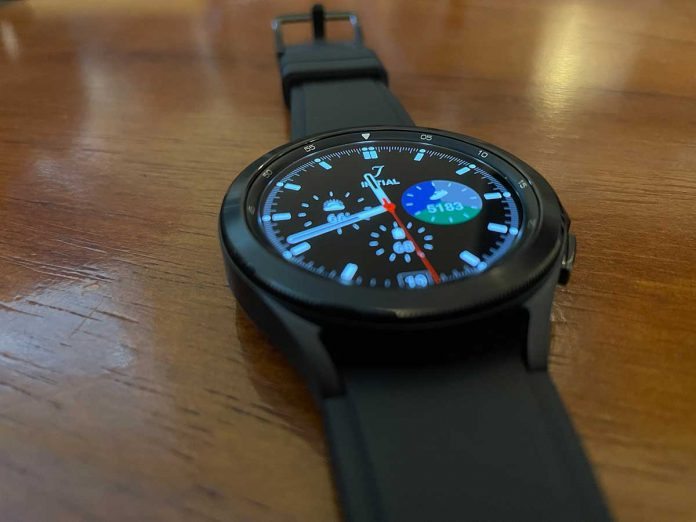 Samsung Galaxy Watch 4 classic model looks awesome!