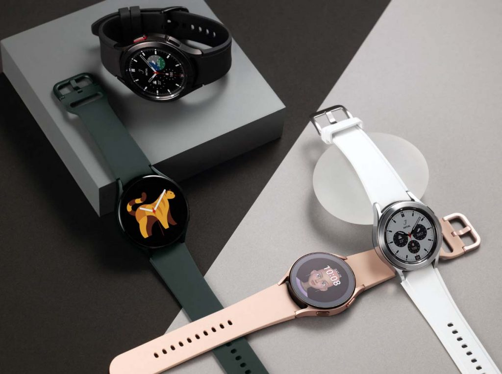 Galaxy Watch 4 Classic model vs Watch 4 by Samsung