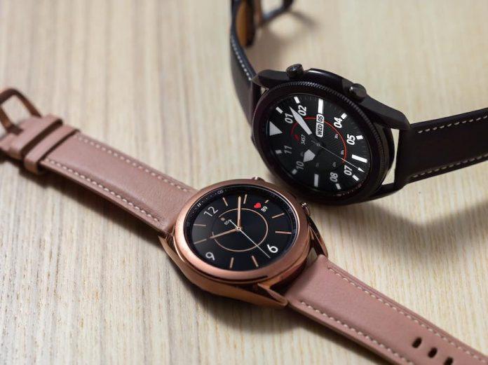 Samsung Galaxy Watch 3 bezel