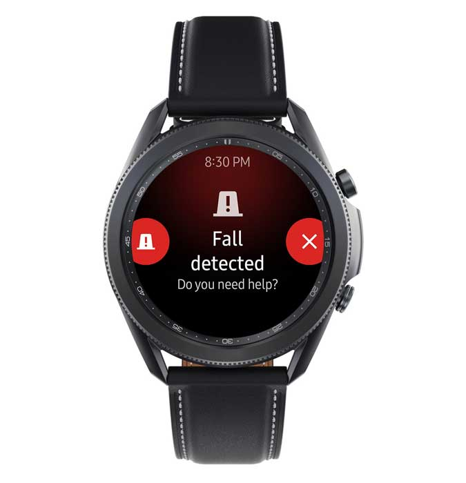 Fall detection Samsung Galaxy smartwatch