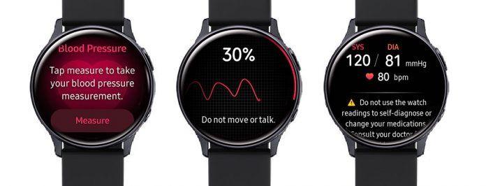 Samsung Active Blood Pressure monitor